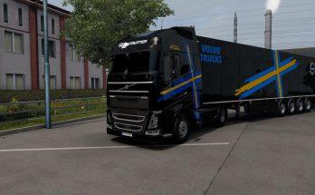 Combo skin Volvo Trucks v1.0