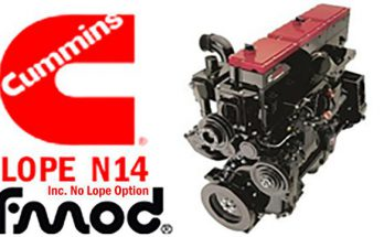 Cummins N14 Lope Idle Engine Sound 1.39