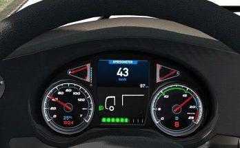 DAF XF 106 custom dashboard fixed 1.39