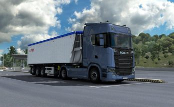 Scania Newgen V8 Stock Sound Kriechbaum Temporary Fix 1.39