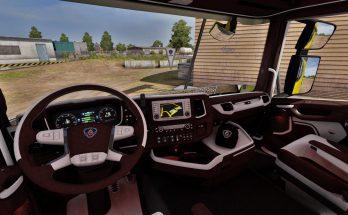 Scania Next Gen Brown - White Interior 1.39