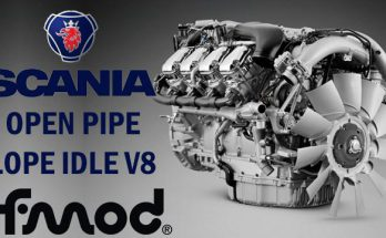 Scania Open Pipe Lope Idle V8 1.39.x