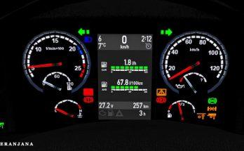 SCS + RJL Scania R&S Dashboard g.3 1.39