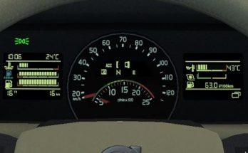 Volvo FH 2012 realistic dashboard 1.39