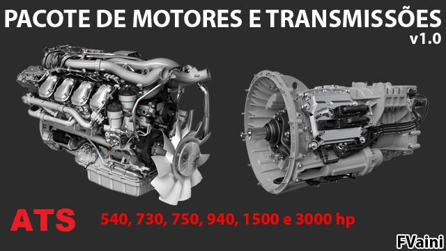 ATS ENGINES AND TRANSMISSIONS PACKAGE V1.0