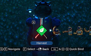 G Farm Harvest with Hotkey