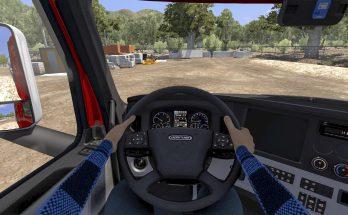 INTERIOR DRIVER MOD [ANIMATED HANDS] v1.0
