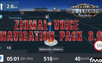 ZIOMAL VOICE NAVIGATION PACK ATS V3.0