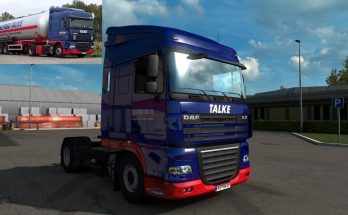 Alfred Talke Skin for DAF XF 105 1.40
