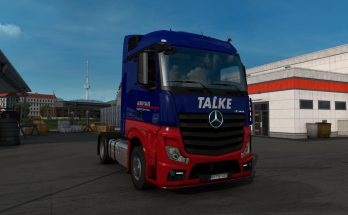 Alfred Talke Skin for Mercedes Benz New Actros 1.40