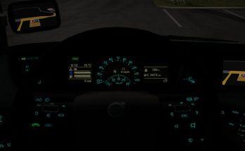 Aquamarine Volvo Dashboard v1.0