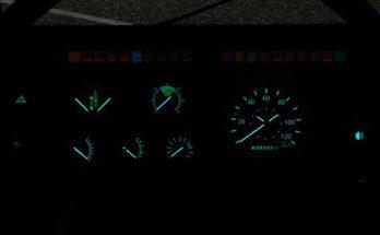Aquamarine Volvo F16 Dashboard v1.0