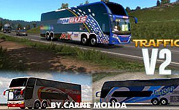 Busses in traffic v2.0 by Carne Molida 1.39