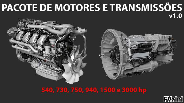 ENGINES AND TRANSMISSIONS PACKAGE v1.0