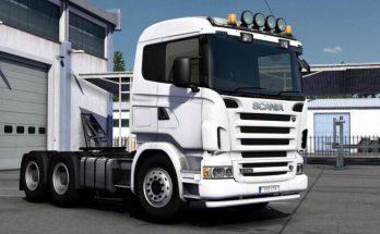 Heavy Duty Bumper Addon for Scania RJL 1.39