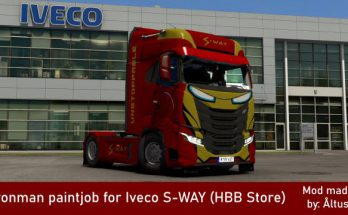 Iveco S-WAY Ironman Skin v1.0