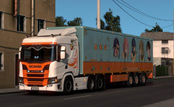 Paintable Griffin skin for Scania v1.0
