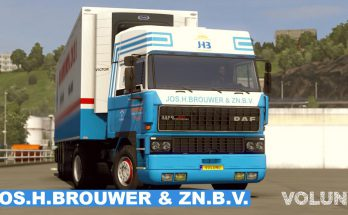 Paintjobs Jos. H. BROUWER & Zn. B.V. for DAF F241 by XBS v1.0