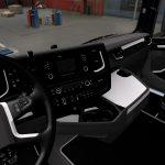 Scania 2016 - Black & White Interior v1.0