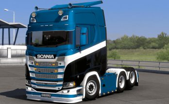Skin by kRipt Paintjob's Scania S v1.0