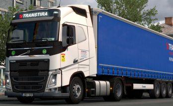 Transtira Logistics Volvo FH Combo v1.0