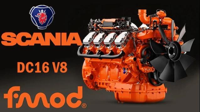 Scania DC-16 V8 v1.0