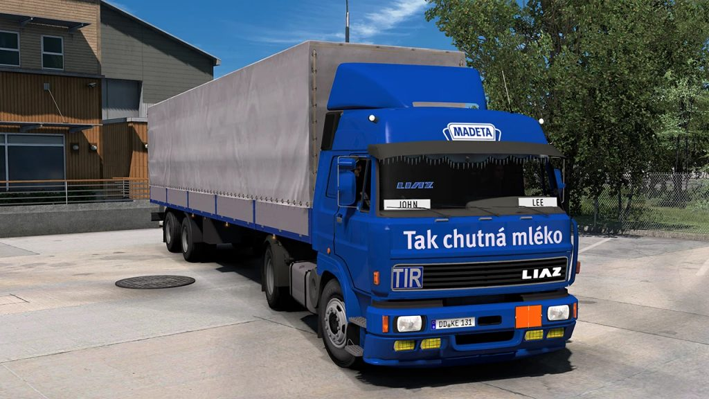 LIAZ 110/300 WITH TRAILERS 1.40