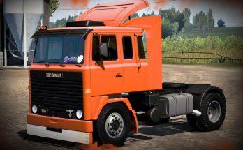 Scania LK 111 Truck + Interior v1.0 1.40.x