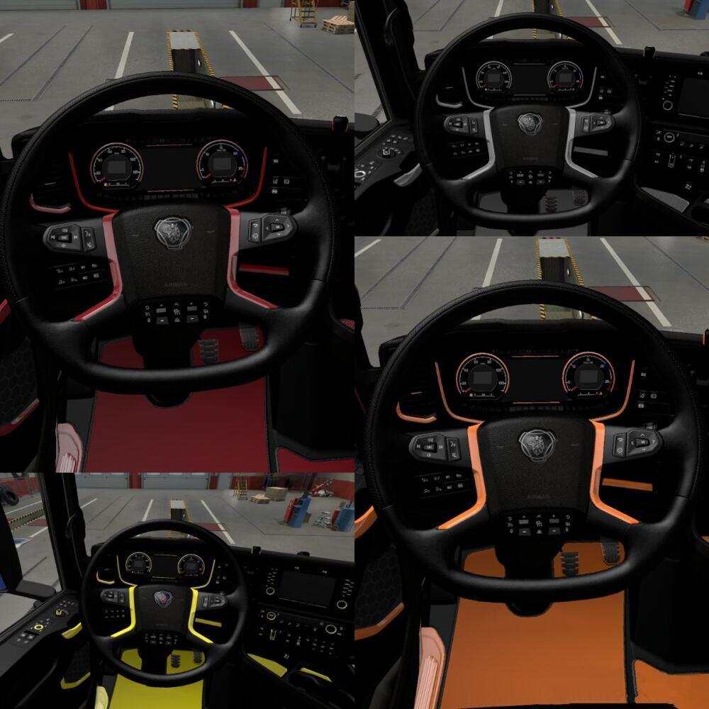 Scania S Interior 1.39 - 1.40