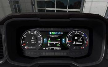 Scania S Next Gen Dashboard computer update for 1.40