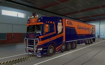 CGL Scania S/SCS Box Trailer Combo v1.0