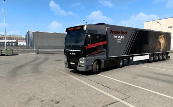 Combo skin Penske Truck v1.0