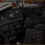 Dark grey Interior Volvo FH16 2012 v0.8