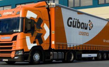 Gübau Logistics Scania Skinpack v1.0