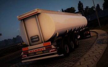 Mammut 3 Axles Tanker Trailer 1.40