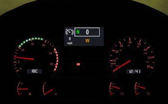 MAN TGA Custom Dashboard v1.0 1.40