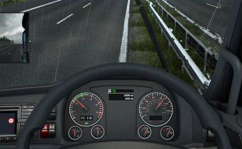 MAN TGX E6 Easy Read Dashboard 1.40