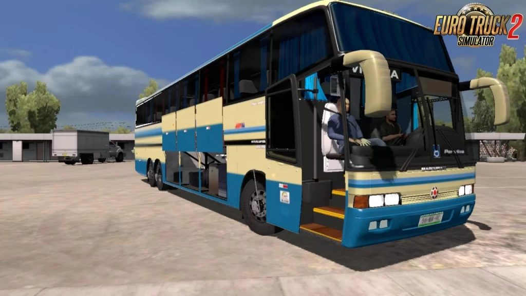 MARCOPOLO GV 1150 MB ETS2 1.40