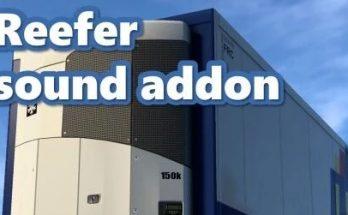 Reefer Trailer Sound Addon [SCS trailers only] v1.0 1.40