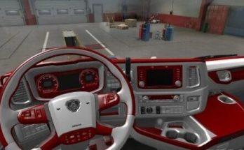 Scania Next Gen Red - White Interior 1.40