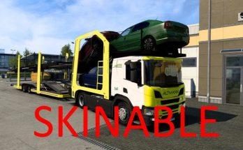 Scania P Cartransporter for Eugene Scania Pack v2.0