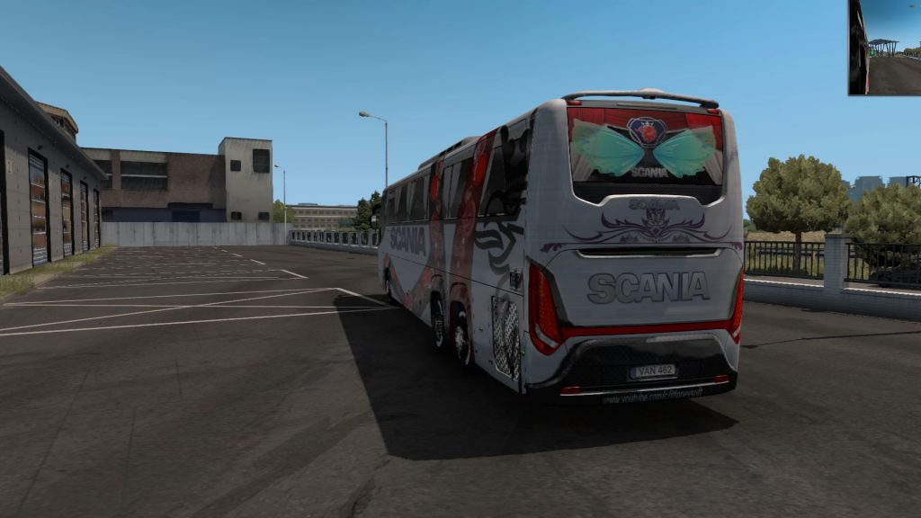 Scania touring White 2021 ets2 and ATS for 1.39 and 1.40