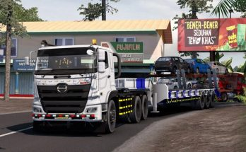 Trailer Lowboy Indonesia 1.40