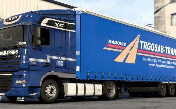 Trgosab Trans DAF XF Combo 1.40