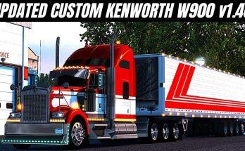 KENWORTH W900 CUSTOM WITH PINGA TRUCK PARTS 1.40