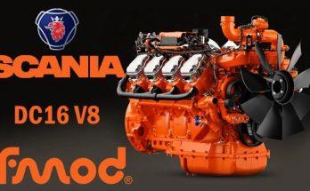SCANIA DC16 V8 1.40