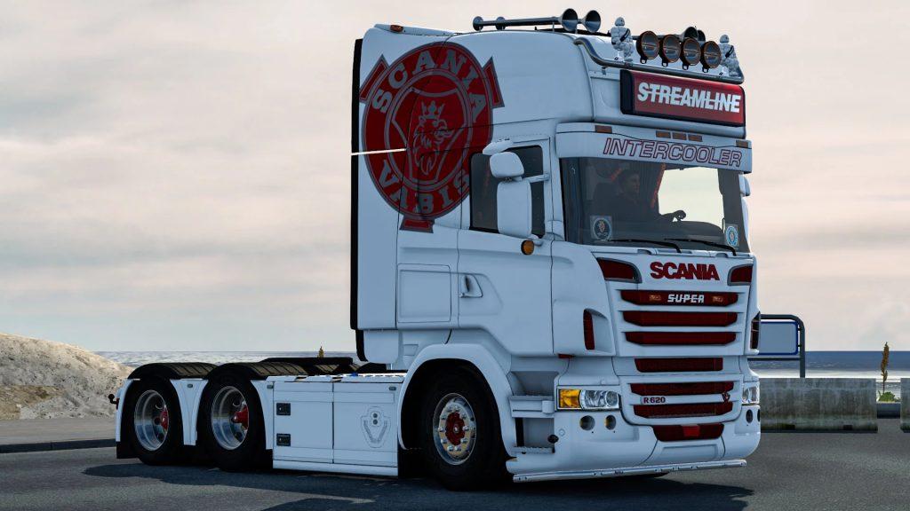 Ed Hayes style skin for Scania v1.0