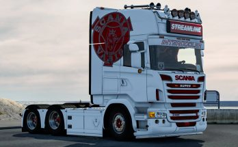 Ed Hayes style skin for Scania v1.0