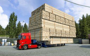 Giant Cargo Trailer Mod 1.40