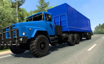 KrAZ-260 (1993) ETS2 + BONUS only 1.40.x